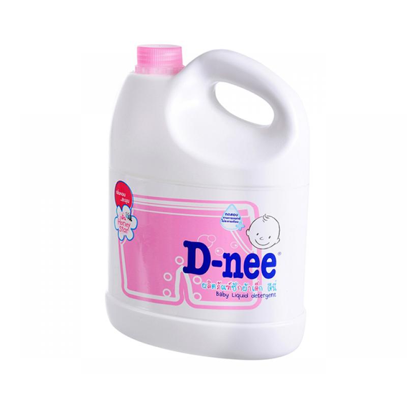 Nước giặt xả DNEE hồng 3000ml