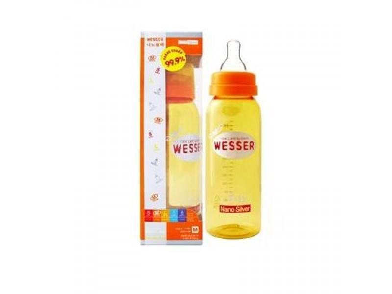 Bình sữa WESSER cổ thường 250ml