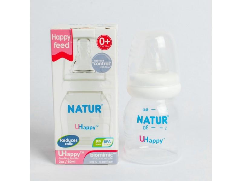 Bình sữa Thái chống sặc Nutur 60ml