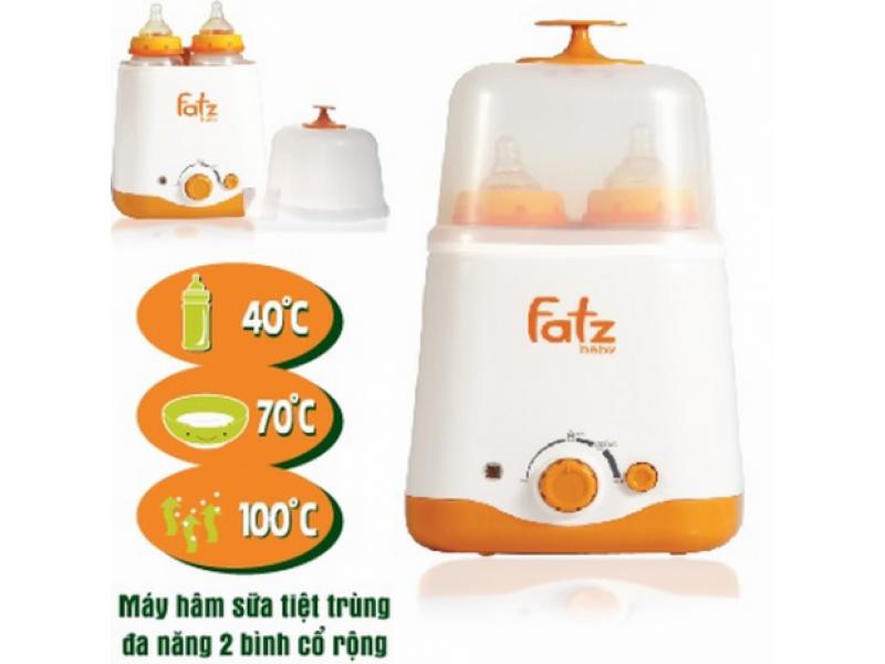 Máy hâm sữa và tiệt trùng Fatzbaby FB3011SL