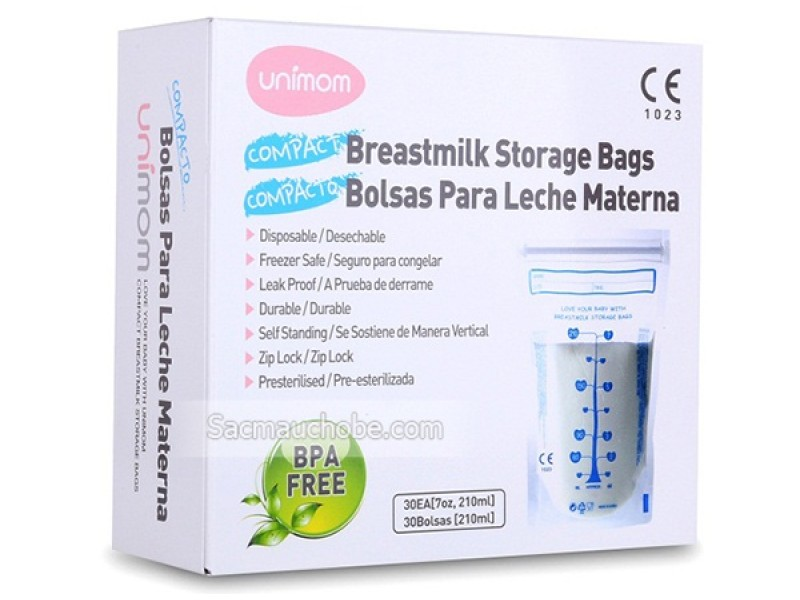 Túi trữ sữa Unimom Compact 30 chiếc