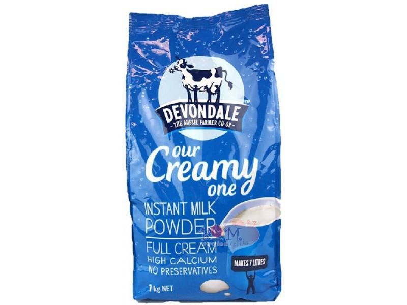 Sữa tươi dạng bột Devondale 1kg nguyên kem