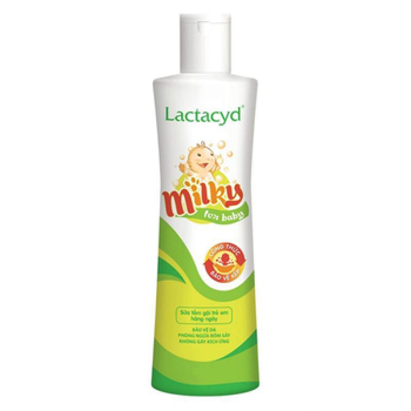 Dầu tắm gội Lactacyd Milky 250ml