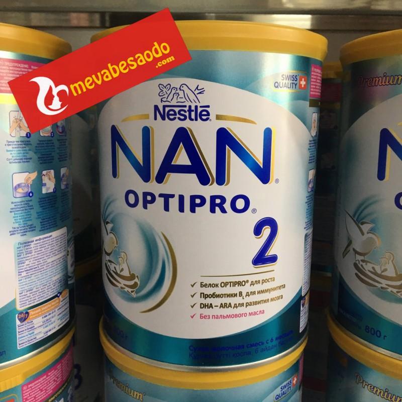 Sữa Nan Nga Số 2 hộp 800g