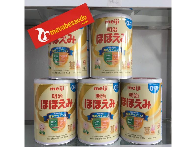 Sữa Meiji Nhật 800g  0-1 tuổi