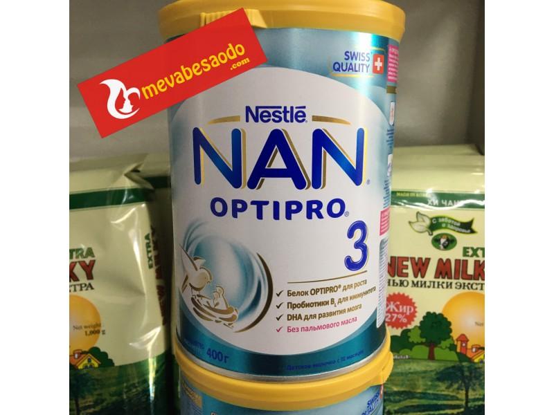 Sữa Nan Nga 3 hộp 400g
