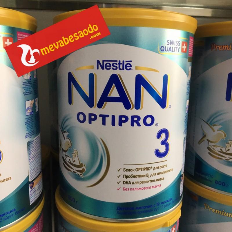 Sữa Nan Nga Số 3 hộp 800g