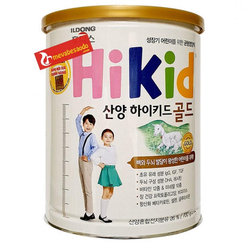 Sữa Hikid dê Hàn Quốc 700g