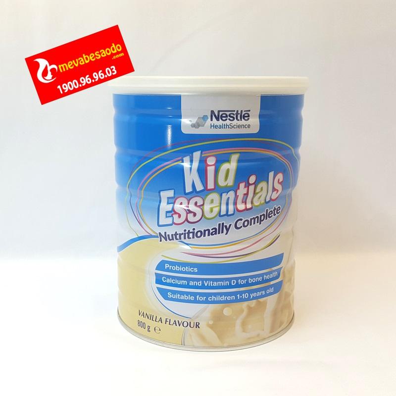Sữa Kid Essentials Úc vị Vani 800g