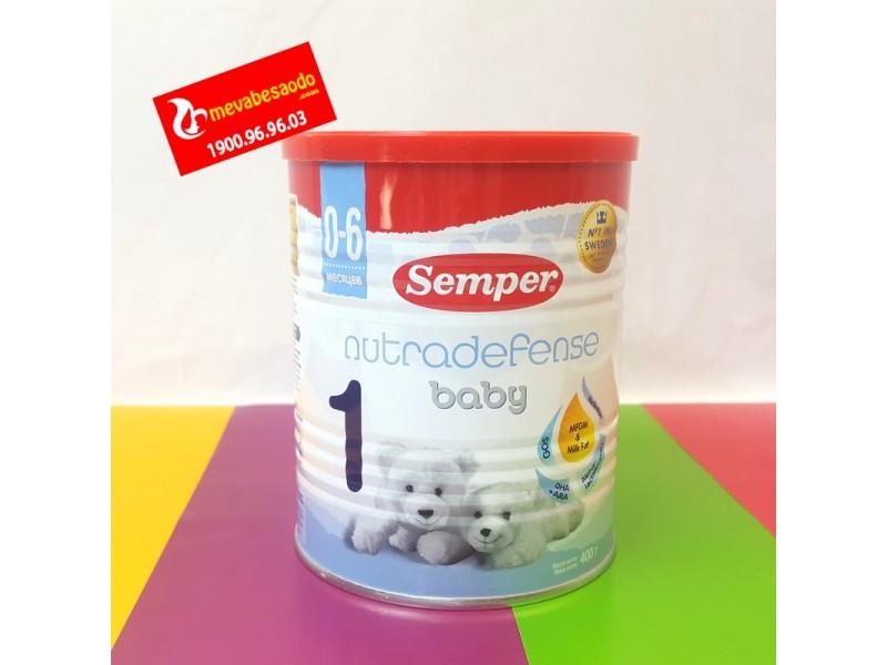 Sữa Semper Nga số 1 hộp 400g 0-6m