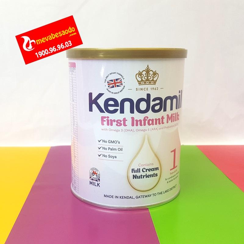 Sữa Kendamil Anh quốc số 1 0-6 tháng