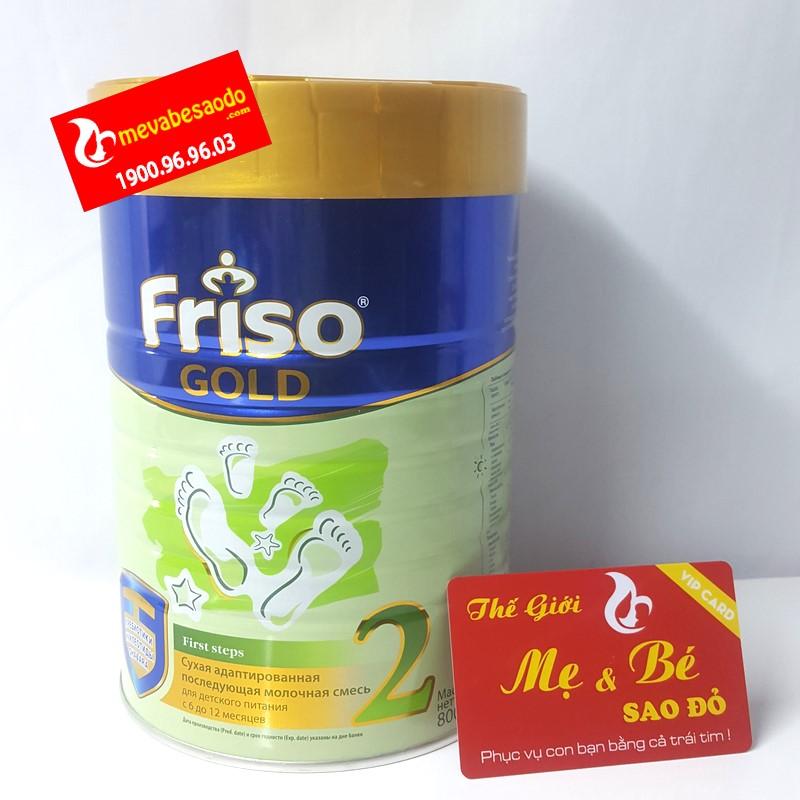 Sữa Friso Gold Nga Số 2 400g cho trẻ từ 6-12 tháng