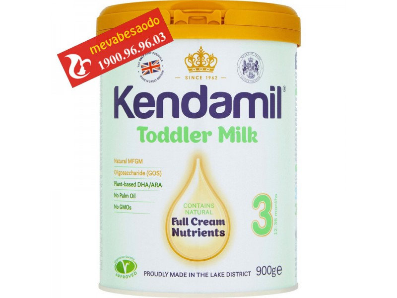 Sữa Kendamil anh quốc số 3 900g