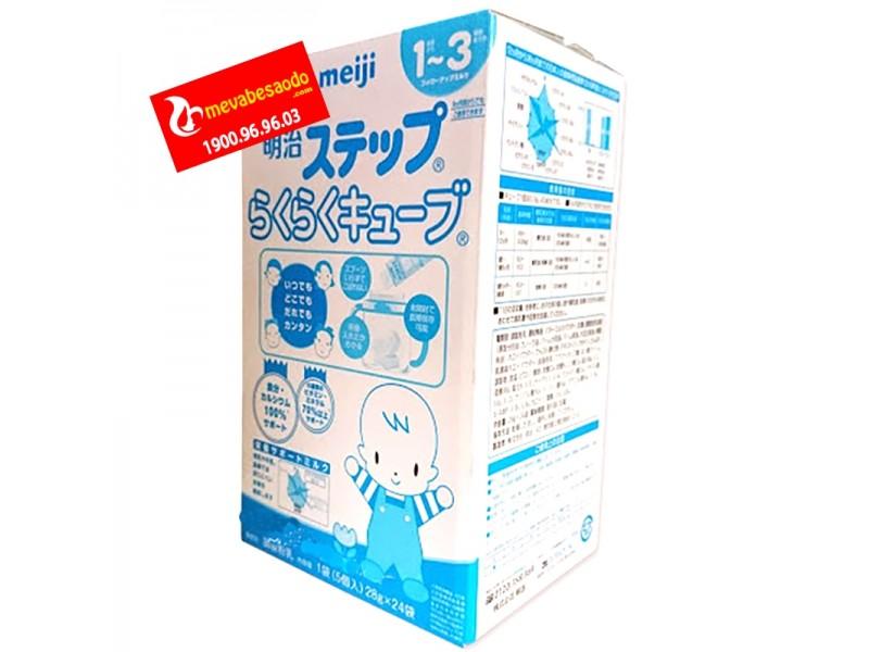 Sữa Meiji hộp dạng thanh số 9