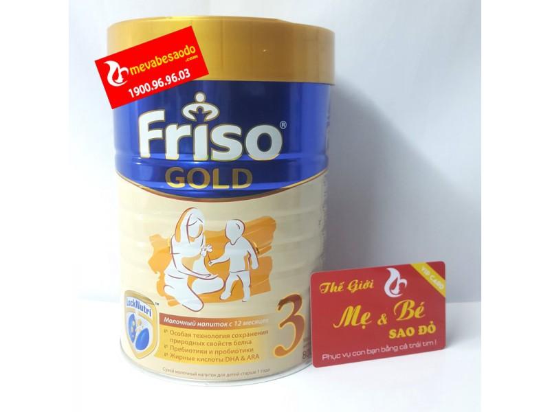 Sữa Friso Gold Nga Số 3 800g cho trẻ từ 1 tuổi