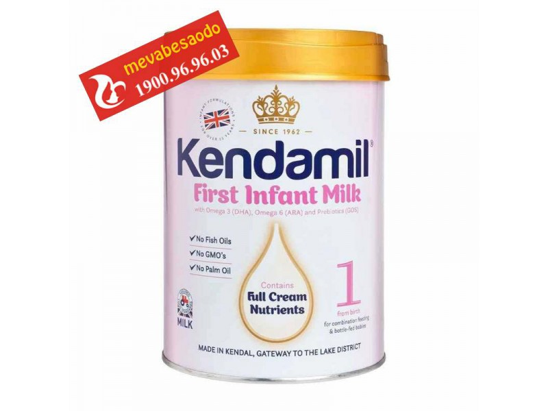 Sữa Kendamil anh quốc số 1 900g