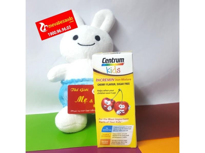 Centrum Kids Incremin Úc 200ml cho trẻ biếng ăn