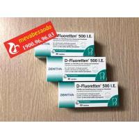 Vitamin D3 Fluoretten 500 I.E Của Đức Cho Trẻ Sơ Sinh